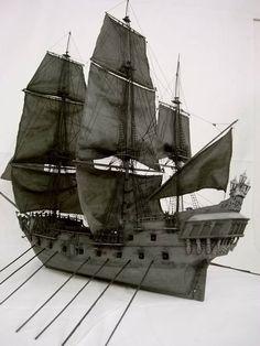 model boat kit Updated version Black Pearl model ship