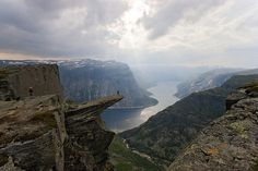Trolltunga (Troll's Tongue) by jayp70, via Flickr