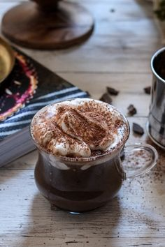 Spicy Pumpkin Hot Chocolate