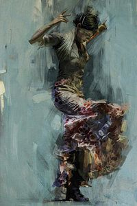 Ballerina Painting - Spanish Culture 9 by Corporate Art Task Force