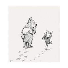 Original Winnie The Pooh Drawings | catchrandom - Polyvore