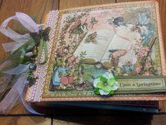 Mini Album Cookbook: Once Upon A Springtime ~ Graphic 45 ~ Mini Album