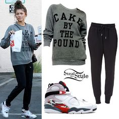 Zendaya: 'Cake By The Pound' Sweatshirt