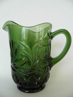 Vihreä lasikannu, Riihimäen lasi