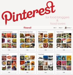 Why Pinterest matters to food lovers and ways for food bloggers to invite them to the table from Maoomba.com