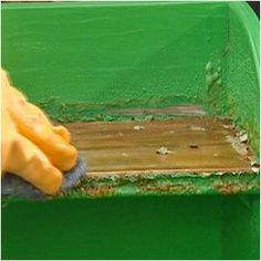 How to Remove Paint from Wooden Furniture #stepbystep