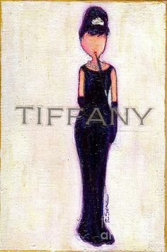 little black dress fashion illustration @m Deodorant  #WhiteMarksFail @Influenster #SpringVoxBox