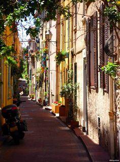 Ruelle Antibes - Cote d'Azur, France