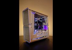 Desk PCs are still very popular and one ofthe best to come out of 2015 was Alternate by UK modder Rob Deluce. The casingwas hand made using MDF wood before being painted black and interior isabsolutely packed with hardware. The system sports an Intel Core i7-5820K, 32GBDDR4 memory, an Asus Sabertooth X99 motherboard, two Asus AMD R9 295 X2graphics cards, two Cooler Master power supplies, over 6TB of storage space anda mass of Alphacool and Phobya liquid cooling hardware. You can see more…