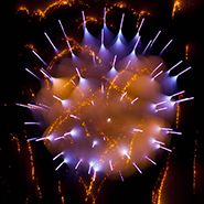 Unusual Long Exposure Firework Photographs by David Johnson