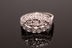 Vintage princess ring…yes please :) Antique Engagement Rings, Antique Rings, Diamond Engagement Rings, Me Time, Vintage Princess, Vintage Jewelry, Vintage Rings, Vintage Style, Jewels