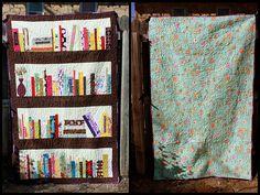 Bookshelf Quilt!