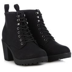 Call It Spring Black 'Hiesen' high ankle boots