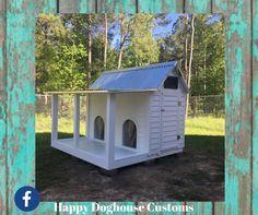 Kountry Farm Doghouse Happy Doghouse Customs