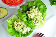 avokadovo vajickovy salat Cottage Cheese, Lettuce, Salads, Paleo, Low Carb, Vegetables, Cooking, Recipes, Food