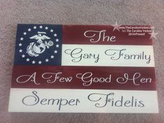Patriotic American Flag Style Wood Board - Home Decor, Wall Hanging, Distressed, Military, Marine Corps, Army, Navy, Air Force, Coast Guard on Etsy, $42.00