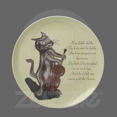 vintage fine china victorian cats daydreams plate  cats