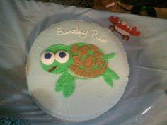 Baby Turtle cake