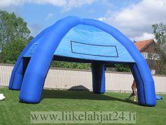 4 jalalla ilmatäytteinen teltta