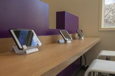 i-pad stations in orthodontic office
