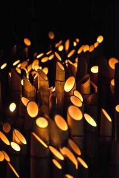Kyushu, Takachiho jinja, Bamboo Lantern Festival, Japan by Ben Smethers