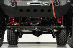 Custom 2014 Jeep Wrangler Unlimited with XD Wheels: Custom Lift Kit