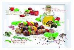 Taca prostokątna z melaminy    #tray #decosalon #kitchenaccessories
