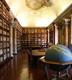 La Meravigliosa biblioteca dell'Accademia dei Lincei