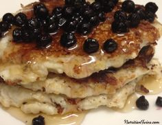You'll flip for these Blueberry Protein Pancakes! Growing up, every Sunday morning was pancake time. Our mom, who as you know made everything from scratch, would whip out her whole wheat flour, eggs, and her other pantry staples and get cooking. Usually we'd have apples and cinnamon in them and on special occasions, there would …