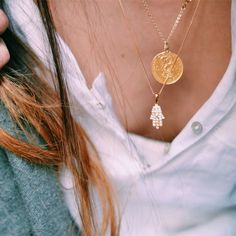 Colar Mão de Fatima #accessories #maodefatima #necklace