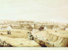 Толстой Фёдор Петрович (1783-1873), Франценсвад. С дороги в Каммербюль