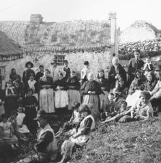 The Great Famine was a period of mass starvation, disease and emigration in Ireland between 1845 and 1852. During the famine Ireland's population dropped by 20–25 percent, one million people died, and a million more emigrated from the island.