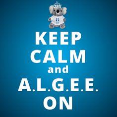 Be sure to keep calm and A.L.G.E.E. on with Mental Health First Aid!