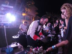 Star Chef Diner at Coral Beach Cancun, show cooking with my team #ExperienciasRolandi #MomentosExquisitos