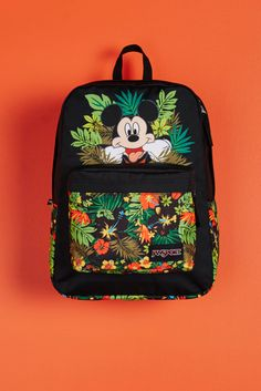 30cbee98eaff Introducing the first ever collaboration between Disney and JanSport. Shop the  Disney Tropical Mickey High