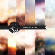 Dawn to Dusk boekh background digital paper 12 by SharmilaWInk