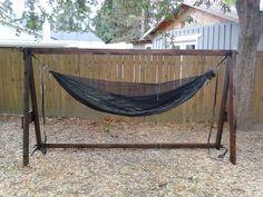 diy hammock stand   google search bamboo innovations   diy bamboo hammock stand   boho chik      rh   pinterest