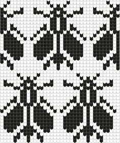 Number: HP115 Päritolu: Pühalepa, Hiiumaa, Estonia Kirjakord: 18 silmust Knitting Machine Patterns, Knitting Stiches, Knitting Charts, Baby Knitting, Filet Crochet, Crochet Chart, Crochet Patterns, Fair Isle Chart, Pixel Pattern