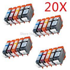 26.45$  Watch now - http://ali5wh.shopchina.info/go.php?t=32789428930 - 20 X Chip PGI520 CLI521 Compatible ink cartridge For canon PIXMA MP540 / MP545 / MP550 / MP558 / MP560 / MP568 printer 26.45$ #buyonline