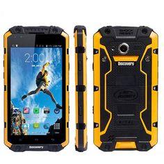 DISCOVERY V9 4.5 Inch 512MB RAM IP68 Waterproof MTK6572 1.2GHz 4000mAh Battery Smartphone Sale - Banggood.com