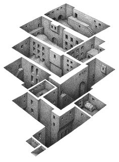 great use of empty space to convey presence. mathew borrett this is pretty cool. kudos man.