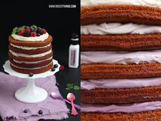 Nicest Things: Berry Layer Cake / Rainbow Cake / Naked Cake