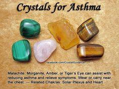 Crystals for Asthma