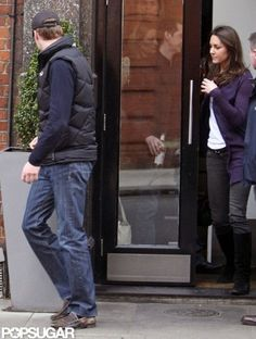 : Prince William and Kate Middleton had a lunch date in March 2009 in London.