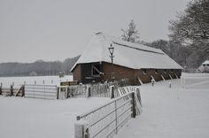 de schaapskooi in de winter (2012) Ede