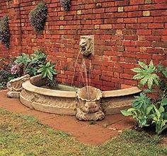 Half Small Pool Surround - New England Garden Ornaments