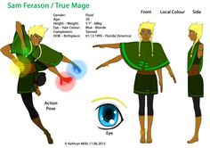 True Mage is gender fluid, meaning he chooses to go back and forth between male and female gender. She joins the game as a way of escaping into the fantasy world, and creates the character to be androgynous. He has four arms with each hand controlling a different element of magic; earth, wind, water and fire. In the Valiant guild, True is seen as the healer and magic user. True is very friendly, upbeat, and always eager to help out. However, can become easily upset and even violent if…