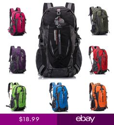 f97beef61b 40L Mens Outdoor Sport Camping Backpack Shoulder Travel Bicycle Hiking  Rucksack
