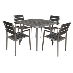 Polylumber 5-piece Canaria Dining Set - Overstock™ Shopping - Big Discounts on Dining Sets