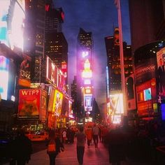 Welcome to the city that never sleeps.